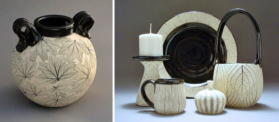 Pottery by Valerie Hawkins